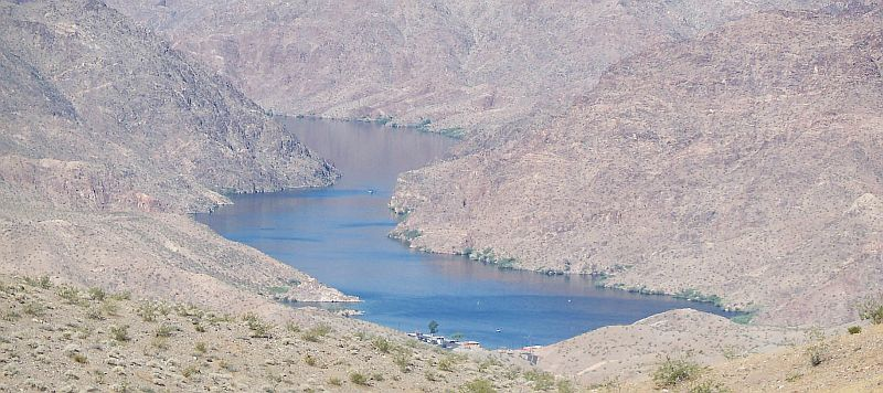 Kingman arizona to the hoover dam highway guide for Willow beach fishing